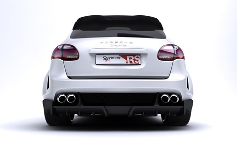 Porsche Cayenne Radical Star by Met-R 8