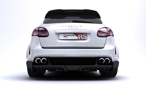 Porsche Cayenne Radical Star by Met-R 8