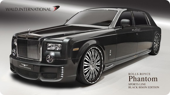 Rolls-Royce Phantom EWB SPORTS LINE Black Bison Edition