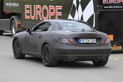 2012 Mercedes Benz SLK 63 AMG prototype spy photo  1