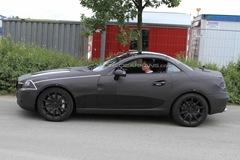 2012 Mercedes Benz SLK 63 AMG prototype spy photo  3