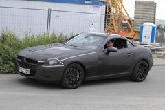 2012 Mercedes Benz SLK 63 AMG prototype spy photo  4
