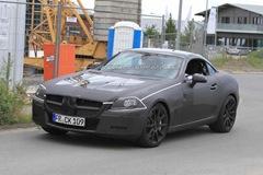 2012 Mercedes Benz SLK 63 AMG prototype spy photo  5