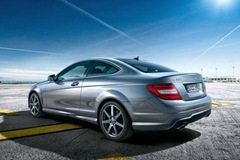 2012 Mercedes C-Class Coupe leaked photo 1