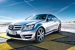 2012 Mercedes C-Class Coupe leaked photo