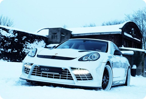 Panamera Moby Dick by Edo Competition 13