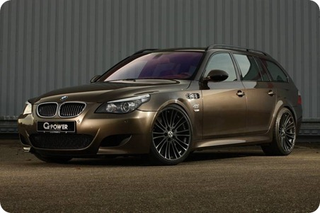 BMW M5 G-Power Hurricane RS Touring 01