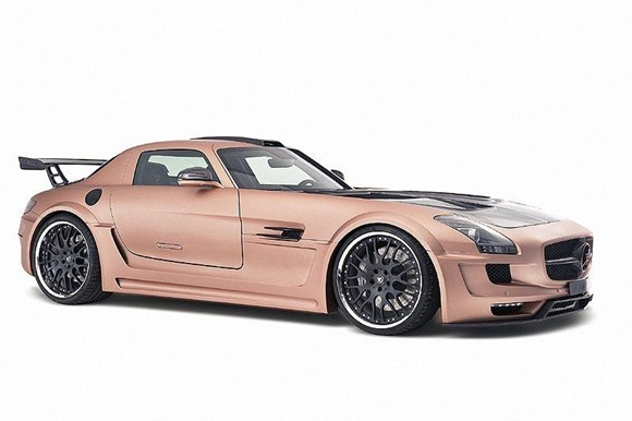 HAMANN HAWK based on Mercedes SLS AMG 3