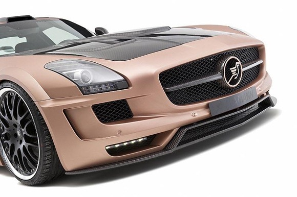 HAMANN HAWK based on Mercedes SLS AMG 7