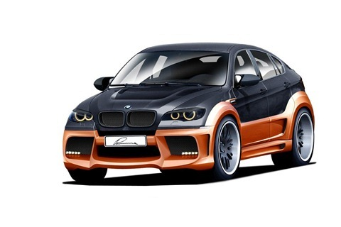 LUMMA CLR X 650 based on BMW X6 1