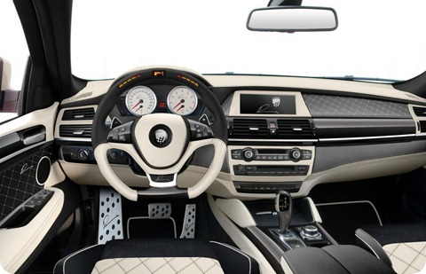 LUMMA CLR X 650 based on BMW X6 3