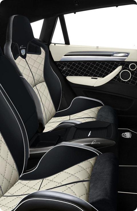 LUMMA CLR X 650 based on BMW X6 4
