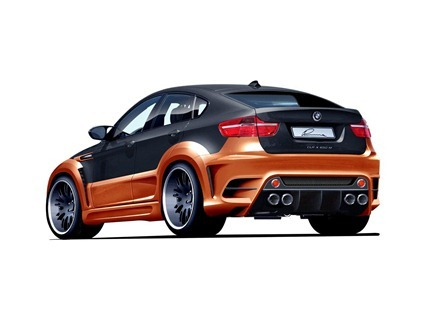 LUMMA CLR X 650 based on BMW X6