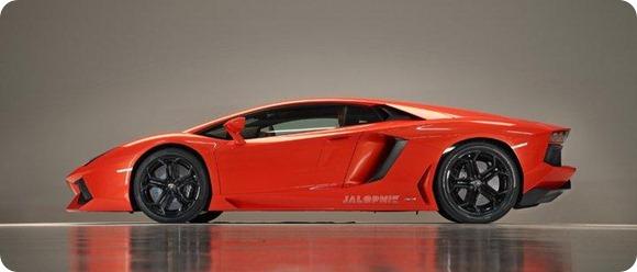 Lamborghini LP700-4 Aventador 2