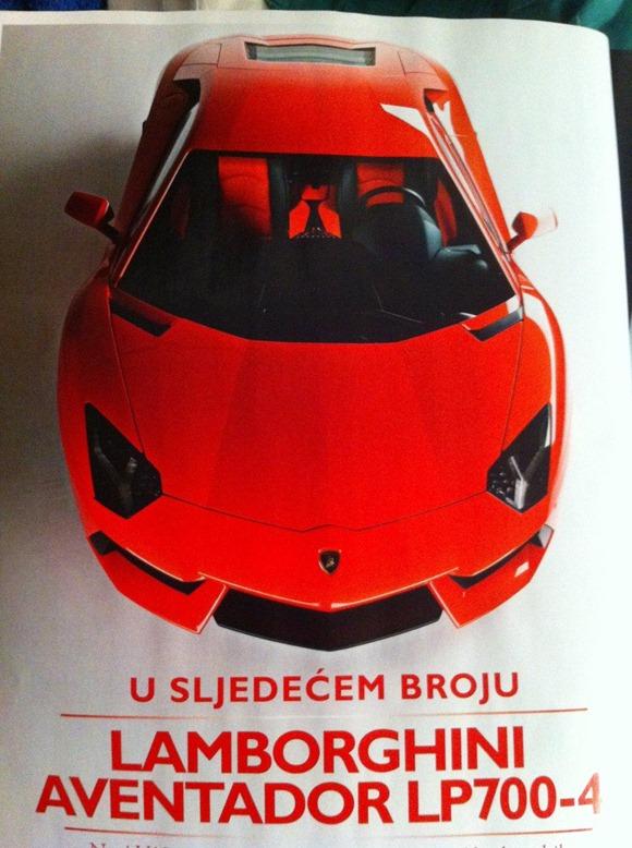Lamborghini LP700-4 Aventador 3