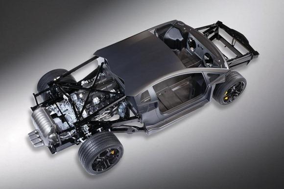 Lamborghini LP700-4 Aventador 4
