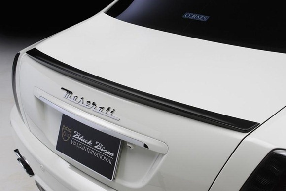 Maserati Quattroporte Black Bison by Wald International 11