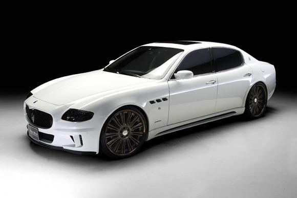 Maserati Quattroporte Black Bison by Wald International 1