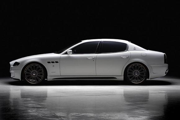 Maserati Quattroporte Black Bison by Wald International 2