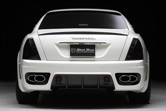 Maserati Quattroporte Black Bison by Wald International 3
