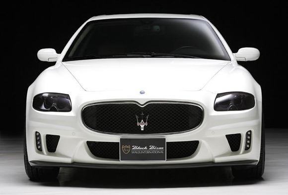 Maserati Quattroporte Black Bison by Wald International 5
