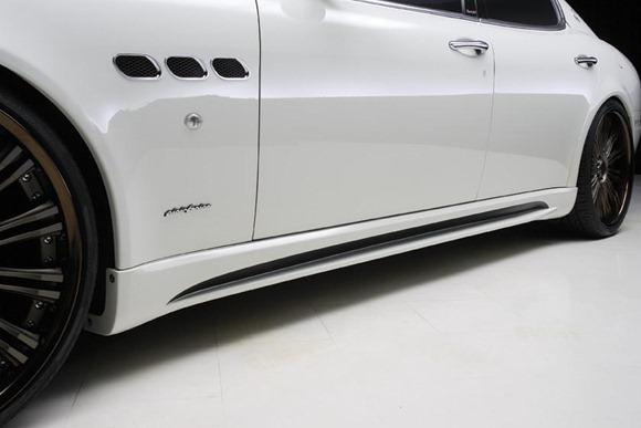Maserati Quattroporte Black Bison by Wald International 7