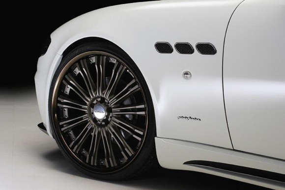 Maserati Quattroporte Black Bison by Wald International 8