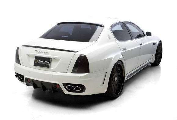 Maserati Quattroporte Black Bison by Wald International