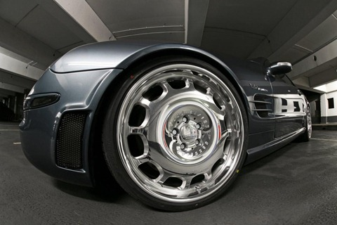 Mercedes-Benz SL 65 AMG by MR Car Design 8