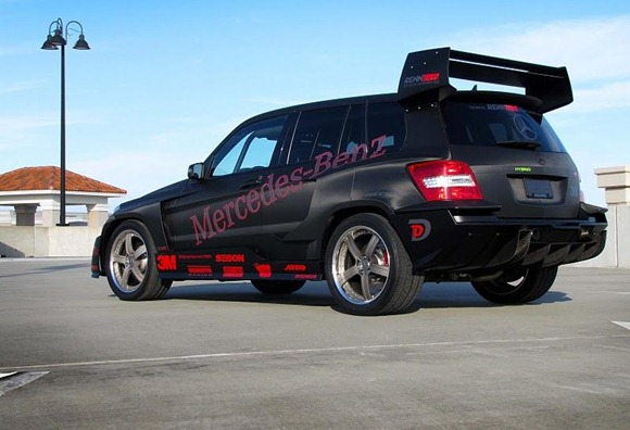 Mercedes GLK350 Hybrid Pikes Peak Rally Car by RENNtech 10
