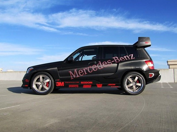 Mercedes GLK350 Hybrid Pikes Peak Rally Car by RENNtech 11