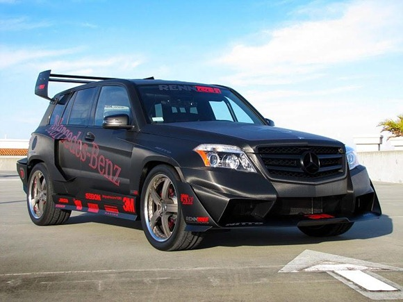 Mercedes GLK350 Hybrid Pikes Peak Rally Car by RENNtech 12