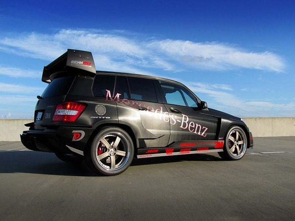 Mercedes GLK350 Hybrid Pikes Peak Rally Car by RENNtech 13