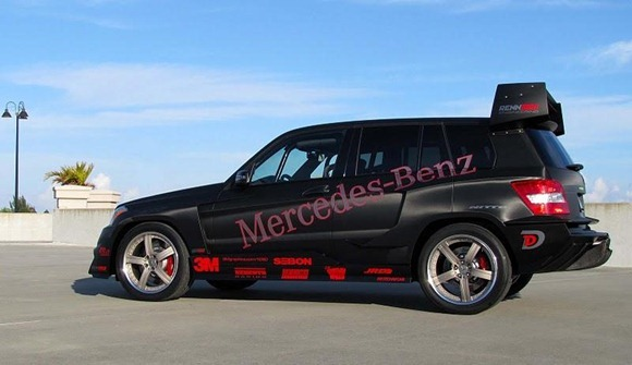 Mercedes GLK350 Hybrid Pikes Peak Rally Car by RENNtech 1