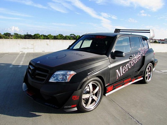 Mercedes GLK350 Hybrid Pikes Peak Rally Car by RENNtech 3