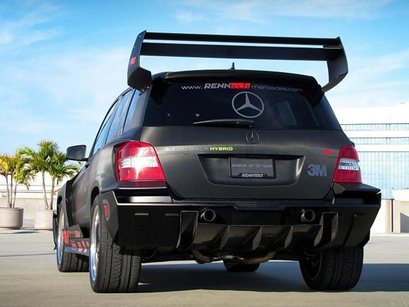 Mercedes GLK350 Hybrid Pikes Peak Rally Car by RENNtech 5