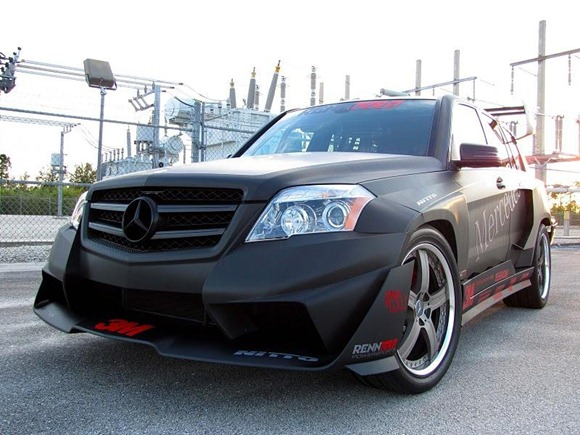 Mercedes GLK350 Hybrid Pikes Peak Rally Car by RENNtech 7
