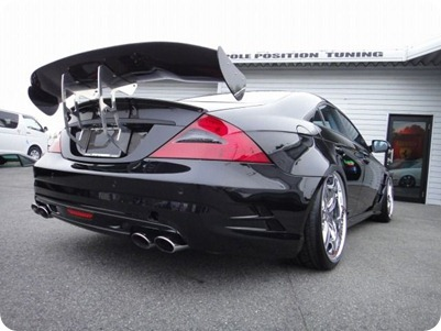 Overkill Mercedes-Benz Pole Position Tuning 06