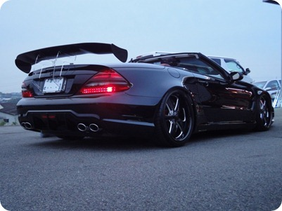 Overkill Mercedes-Benz Pole Position Tuning 11