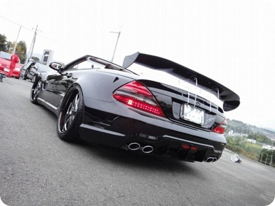Overkill Mercedes-Benz Pole Position Tuning 12