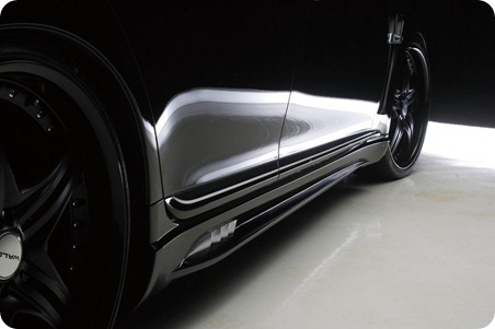 Wald Black Bison Series for 2010 Lexus LS 7