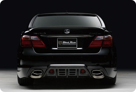 Wald Black Bison Series for 2010 Lexus LS 9