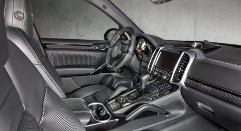 Wide-body Porsche Cayenne by Mansory 23