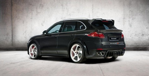 Wide-body Porsche Cayenne by Mansory 4