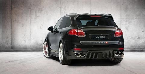 Wide-body Porsche Cayenne by Mansory 6
