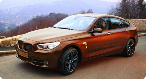 BMW 5-Series Gran Rurismo Trussardi