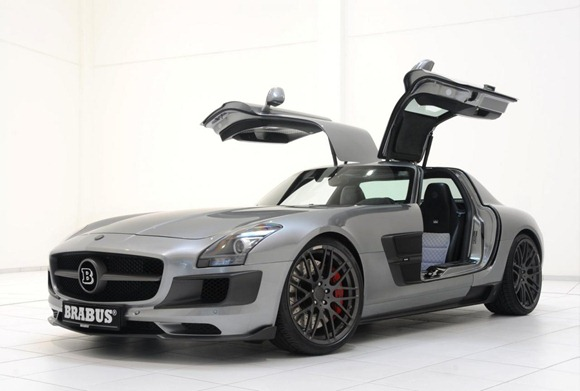 BRABUS 700 Biturbo based on Mercedes SLS AMG 11