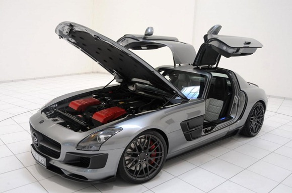 BRABUS 700 Biturbo based on Mercedes SLS AMG 13
