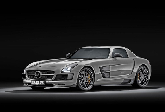 BRABUS 700 Biturbo based on Mercedes SLS AMG 1