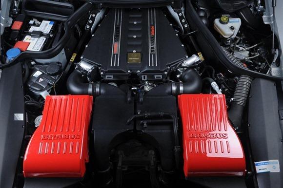 BRABUS 700 Biturbo based on Mercedes SLS AMG 3